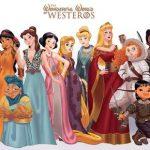 As princesas da Disney como as mulheres de Game of Thrones. Muito bom!