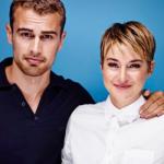 Shailene Woodley e Theo James falam o que esperar de Insurgente… e do cabelo!