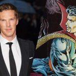 Benedict Cumberbatch como o Doutor Estranho dos quadrinhos da Marvel