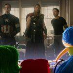 Que legal! Já viu o crossover de Vingadores com Divertida Mente?