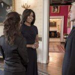 A participação de Michele Obama em NCIS e o adeus a Michael Weatherly