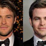 Ai, coração! Chris Hemsworth e Chris Pine juntos!!!