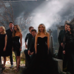 A emoção de ver o elenco de Buffy junto novamente