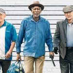 Rindo com Morgan Freeman, Michael Caine e Alan Arkin!