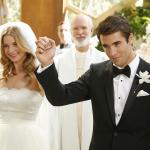 Vem casamento aí para Emily VanCamp e Josh Bowman!