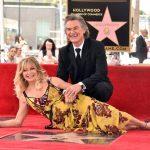As estrelas de Kurt Russell e Goldie Hawn