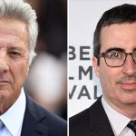 O bate-boca de Dustin Hoffman e John Oliver