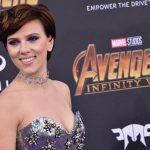 A sempre sexy Scarlett Johansson nos tapetes vermelhos dos filmes da Marvel
