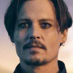 A foto assustadora de Johnny Depp