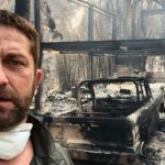 Gerard Butler e outros que perderam suas casas no incêndio na Califórnia