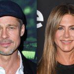 E Brad Pitt foi ao aniversário de Jennifer Aniston…