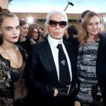 Karl Lagerfeld e seus vestidos do Oscar