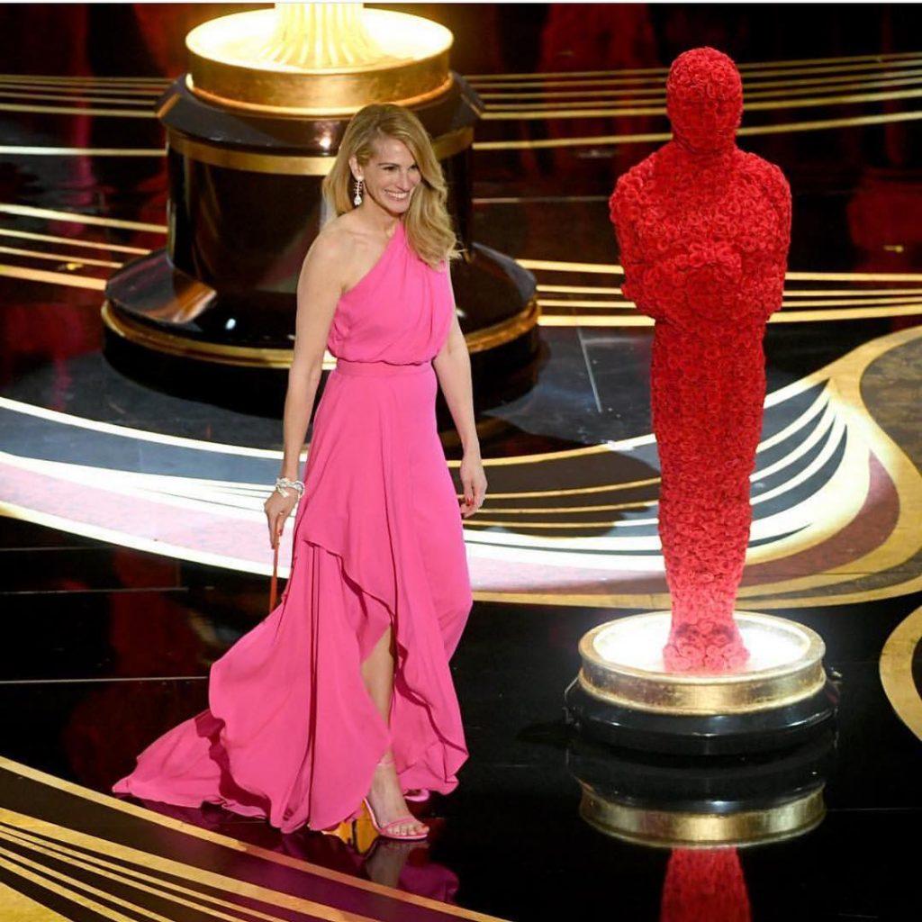 O Rosa Dominou O Tapete Vermelho Do Oscar 2019