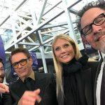 O tapete roxo da estreia mundial de Vingadores: Ultimato