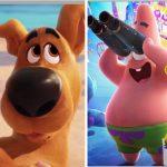 As voltas de Bob Esponja e Scooby Doo ao cinema