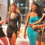 Jennifer Lopez e as amigas de As Golpistas