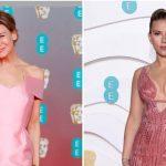 O rosa dominou o tapete vermelho do BAFTA 2020