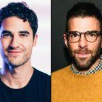 Darren Criss e Zachary Quinto no novo filme de Superman