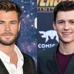 Novidades sobre os vingadores Chris Hemsworth e Tom Holland