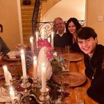 A celebração do Thanksgiving pelos astros de Hollywood