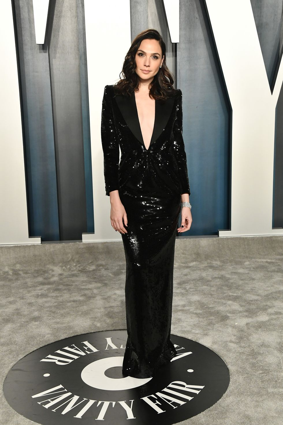 Gal Gadot Attends The 2020 Vanity Fair Oscar Party Blog De Hollywood