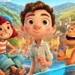 A fofura de Luca na nova animação da Disney